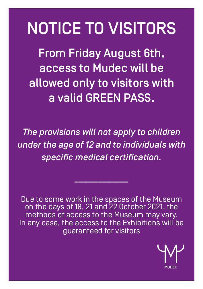 Green pass mandatory access from August 6th 2021